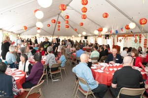 Members and guests enjoy Chinese banquet to celebrate Year of the Tiger