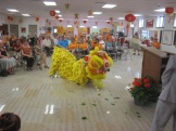 Lion Dance at ceremonies