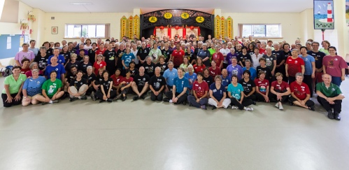 Attendees of the Taoist arts workshop